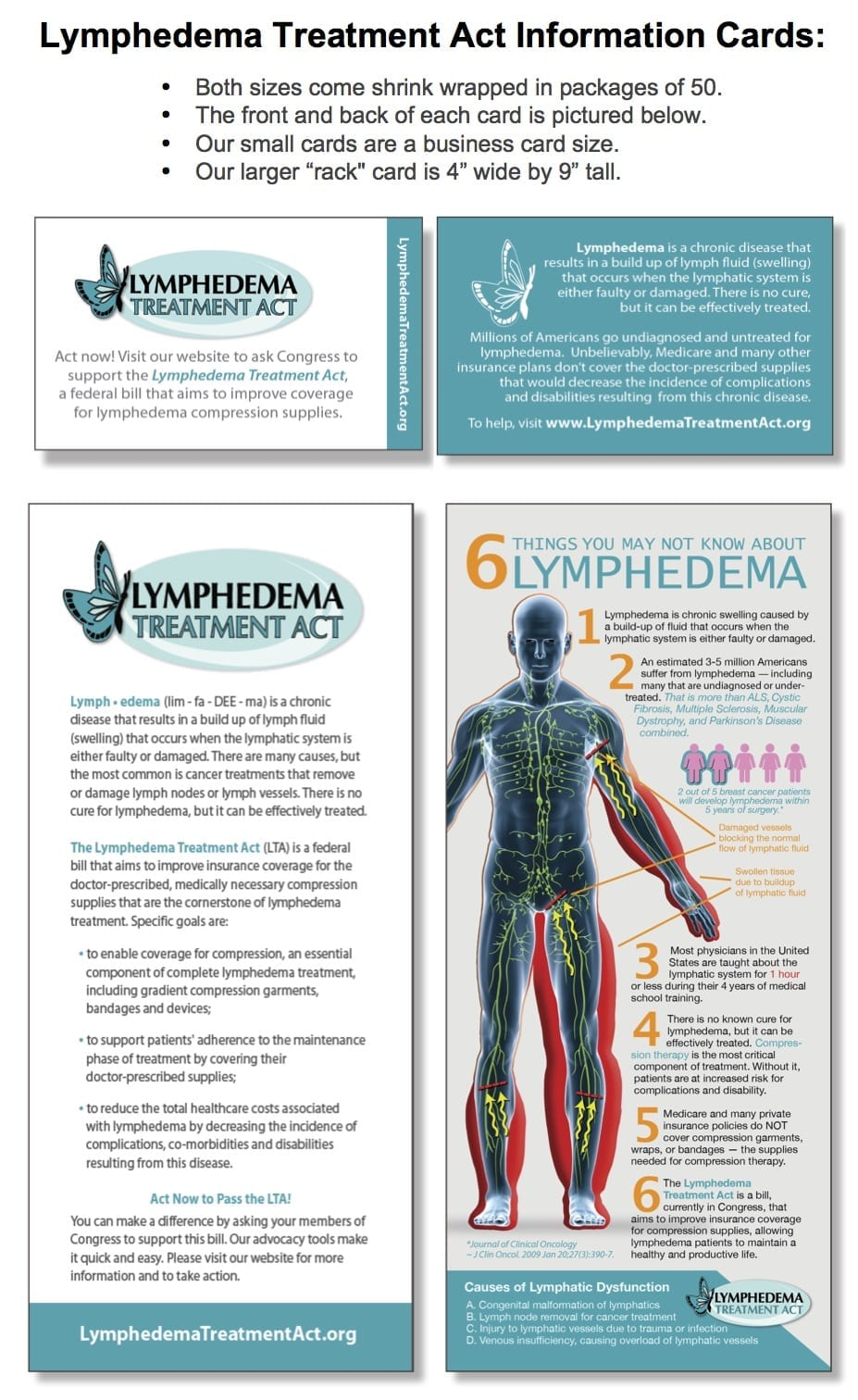 Lymphedema treatment act lta information card images 2 reheart Choice Image